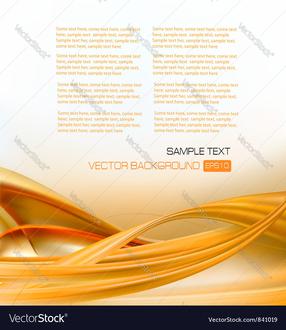Abstract gold elegant business background vector | Price: 1 Credit (USD $1)