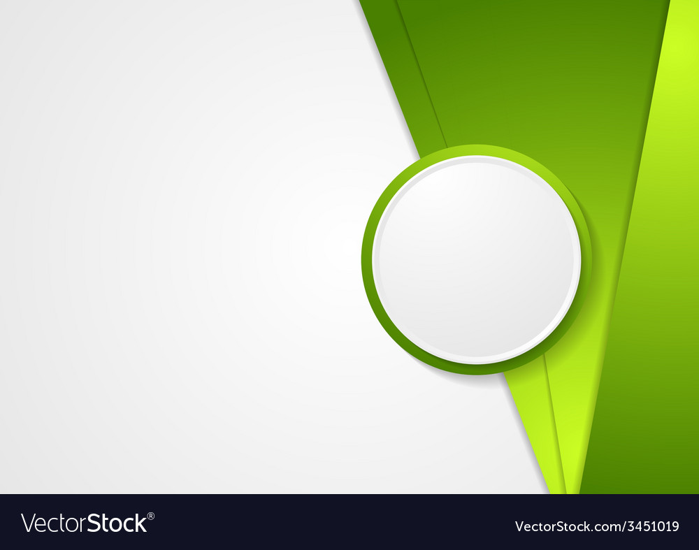 Abstract green corporate background vector | Price: 1 Credit (USD $1)