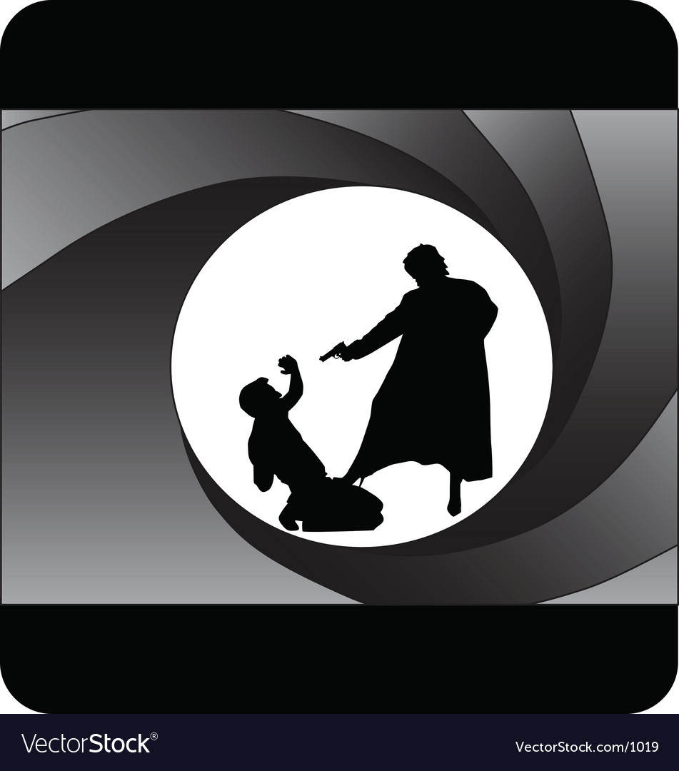Bond style vector | Price: 1 Credit (USD $1)