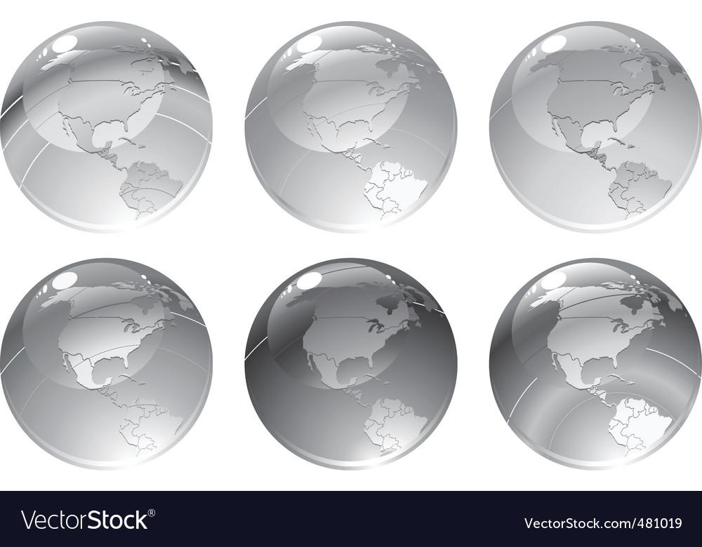 Globe icons vector   Price: 1 Credit (USD $1)