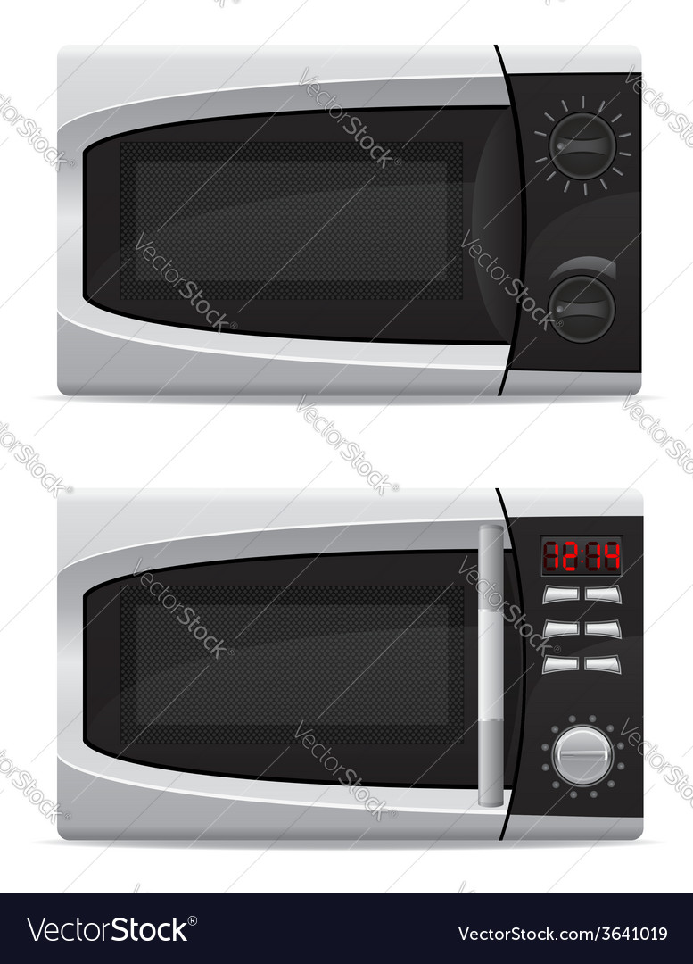 Microwave oven 03 vector | Price: 3 Credit (USD $3)