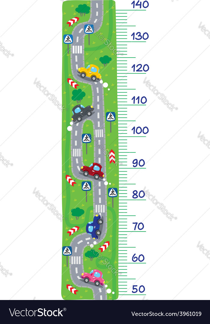 Road meter wall vector | Price: 1 Credit (USD $1)
