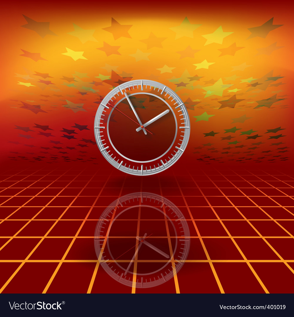Warped time vector | Price: 3 Credit (USD $3)