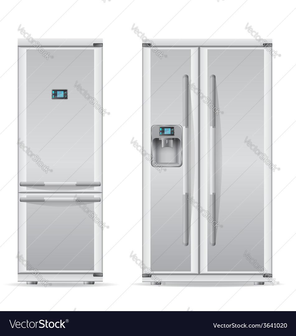 Refrigerator 03 vector | Price: 3 Credit (USD $3)