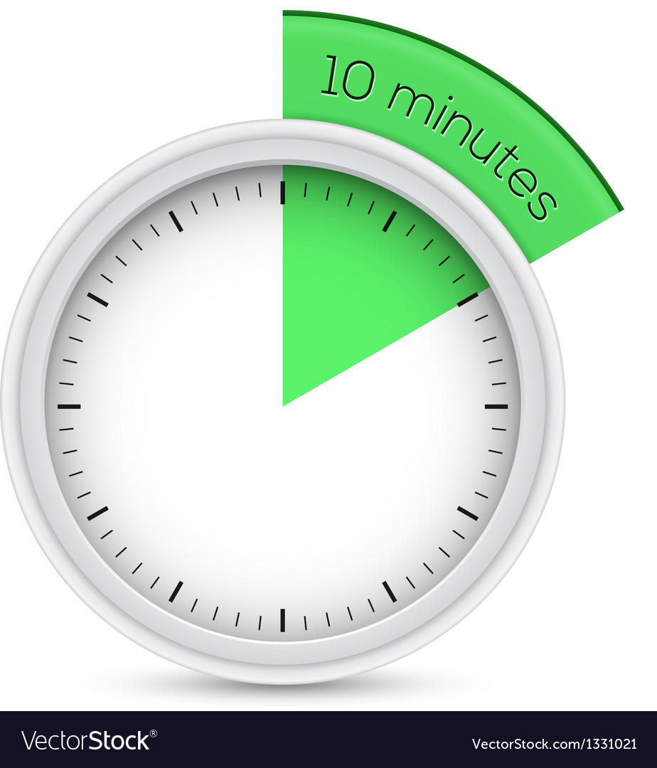 10 minutes timer vector | Price: 1 Credit (USD $1)