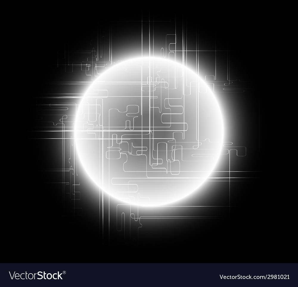 Abstract black background global communications co vector | Price: 1 Credit (USD $1)