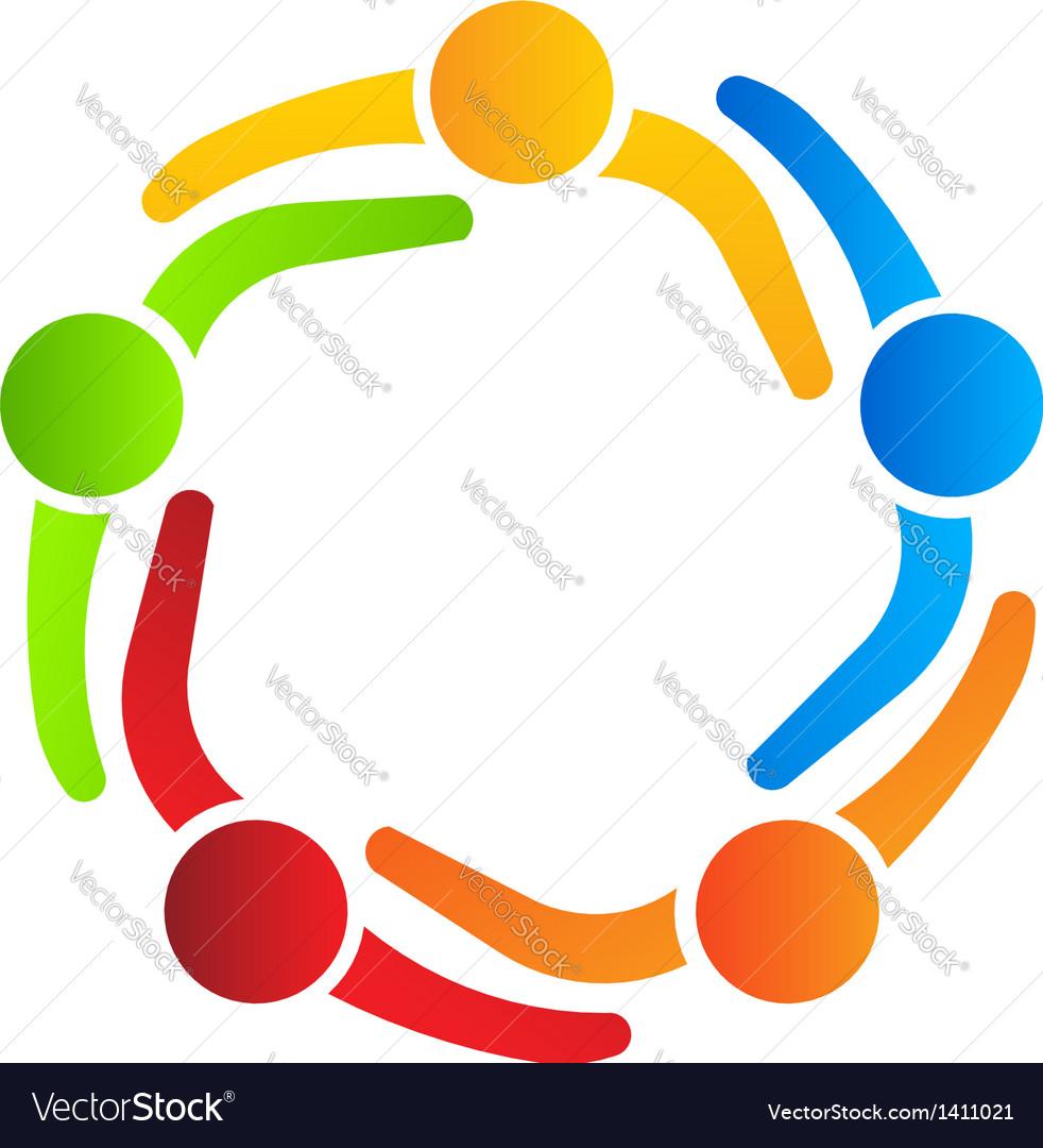 Business logo design partners 5 vector