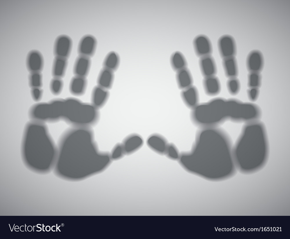 Handprints vector | Price: 1 Credit (USD $1)