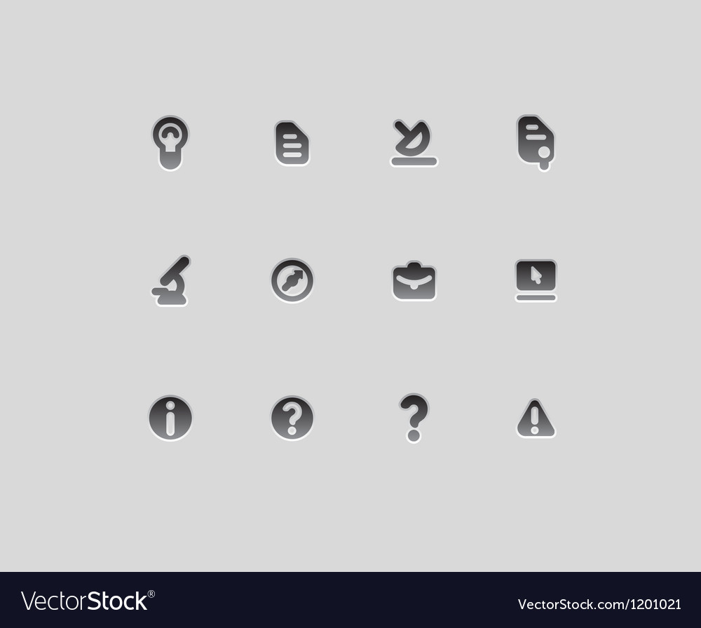 Icons for education and science vector | Price: 1 Credit (USD $1)