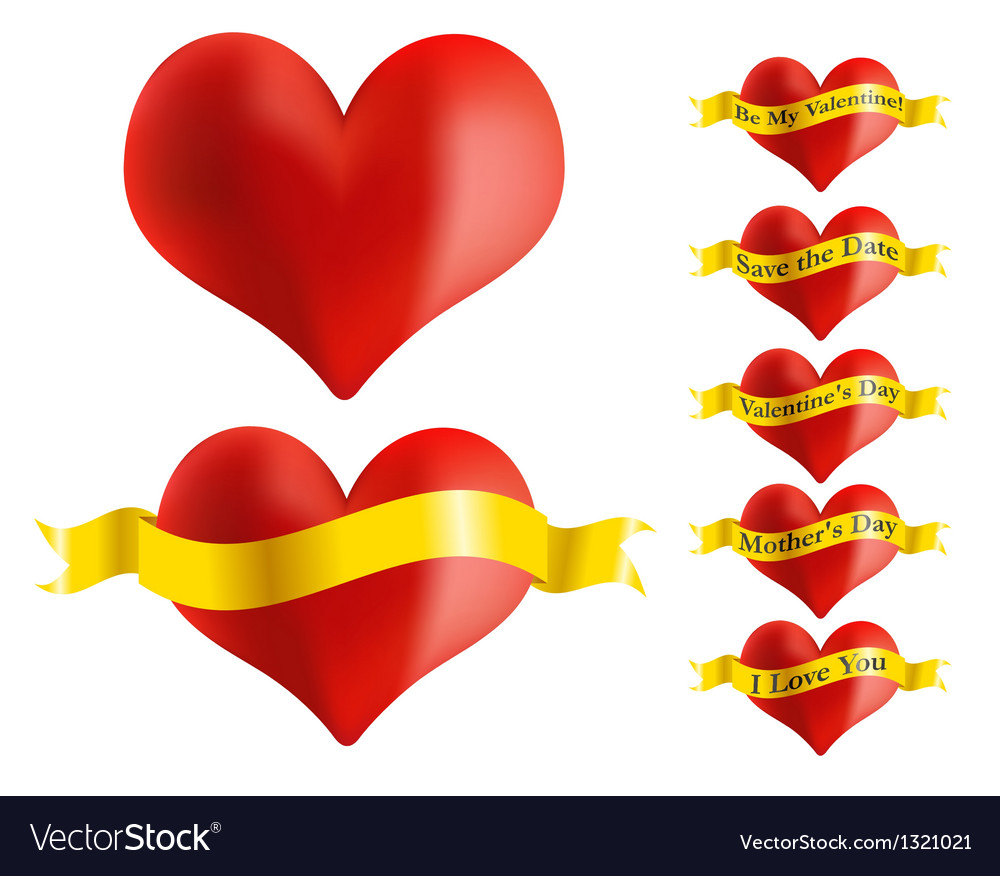 Red heart vector | Price: 1 Credit (USD $1)