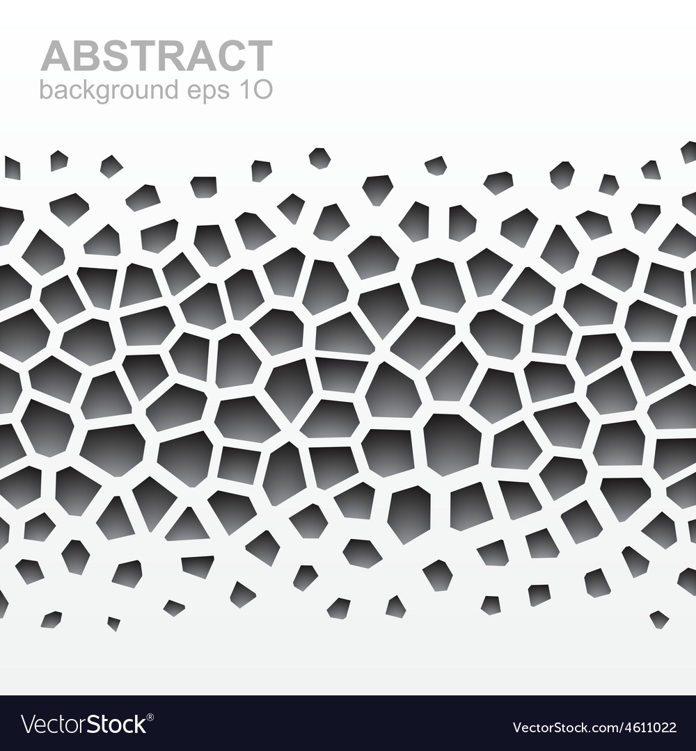 Abstract grayscale geometric pattern vector | Price: 1 Credit (USD $1)
