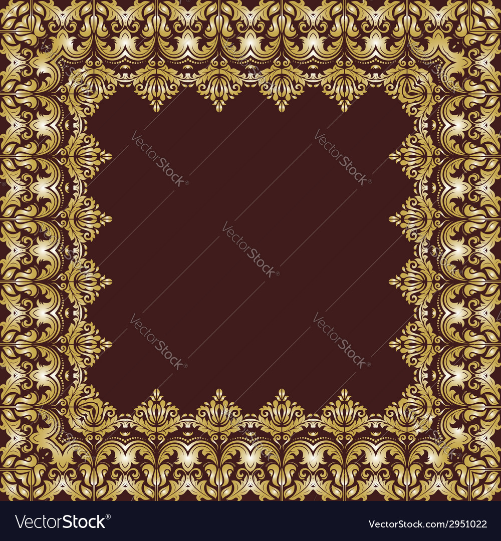 Floral pattern abstract background vector | Price: 1 Credit (USD $1)