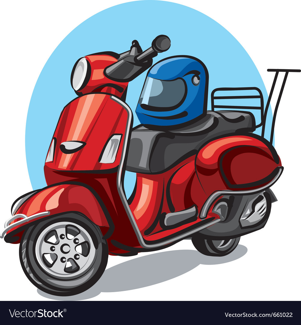 Scooter vector   Price: 3 Credit (USD $3)