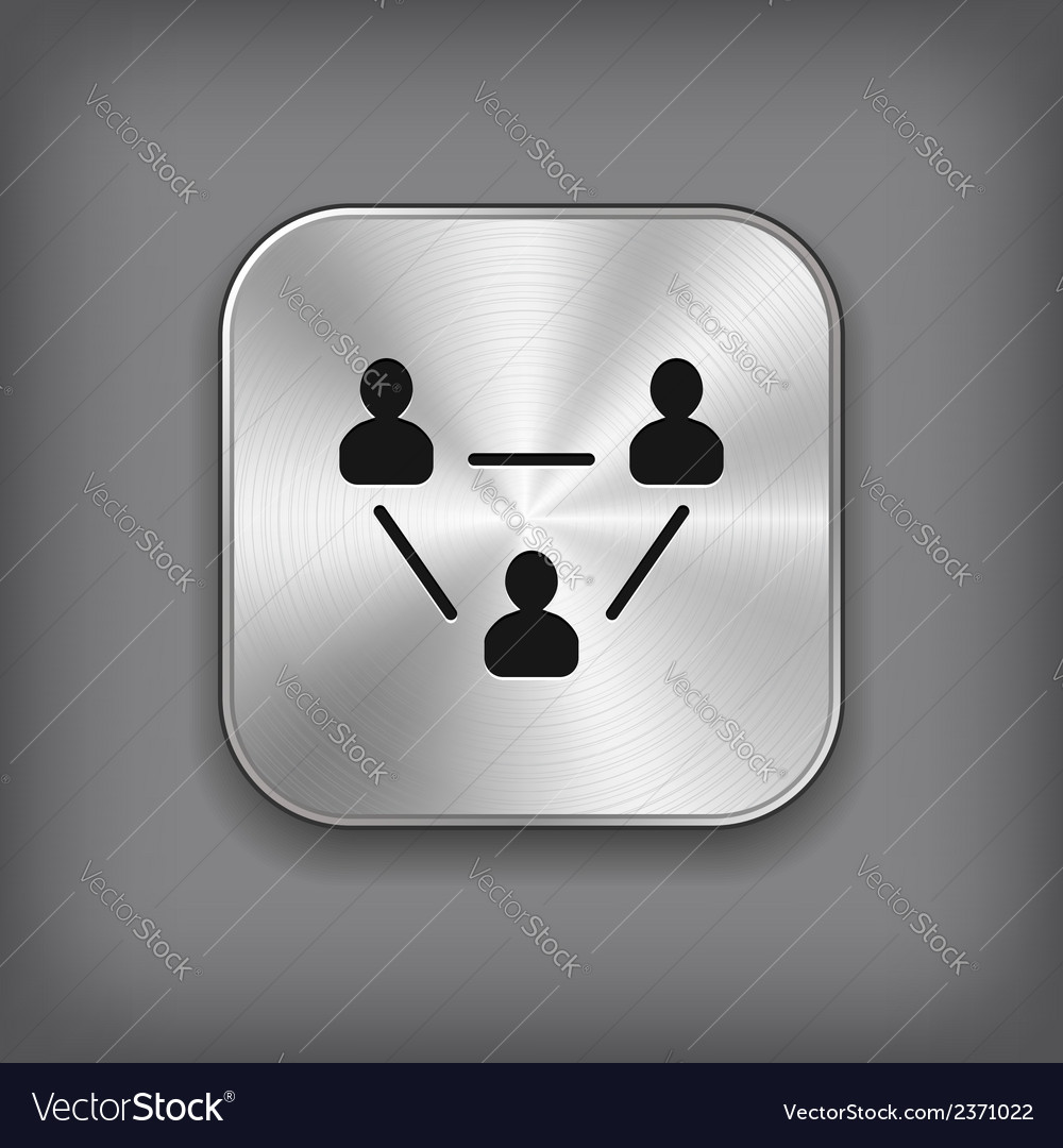 User group network icon vector | Price: 1 Credit (USD $1)