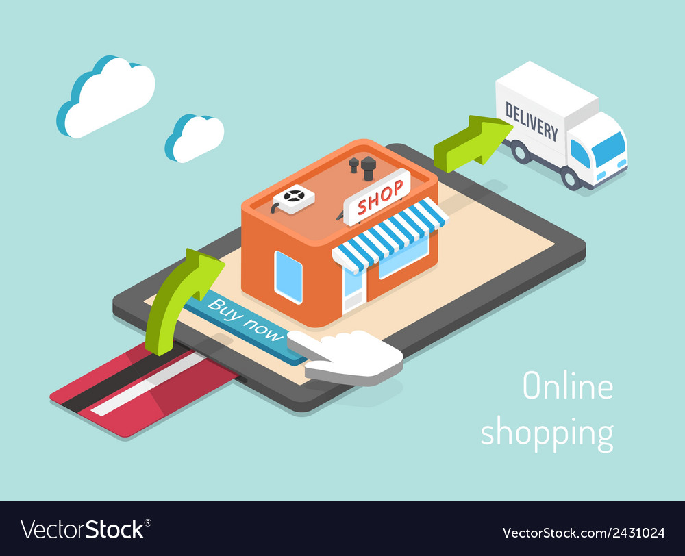 Purchase payment and delivery vector | Price: 1 Credit (USD $1)