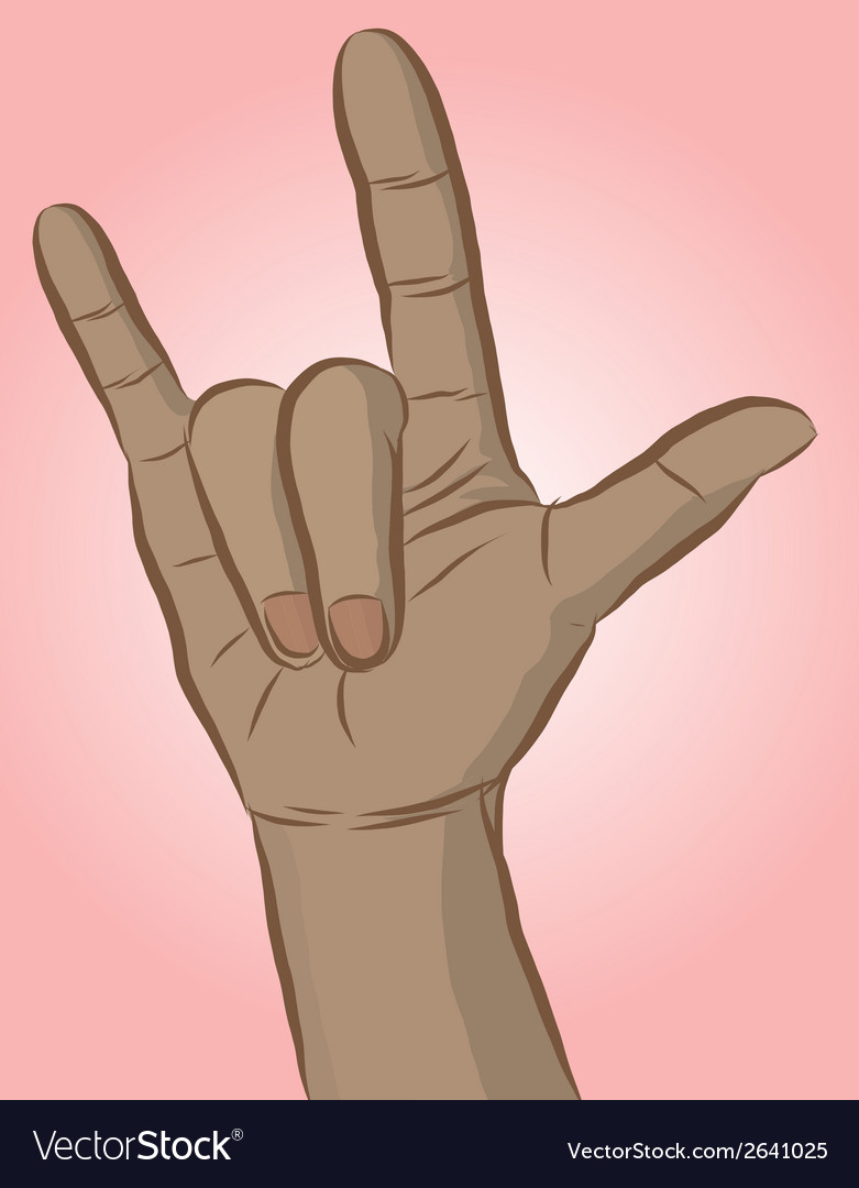 Handsign1 vector | Price: 1 Credit (USD $1)
