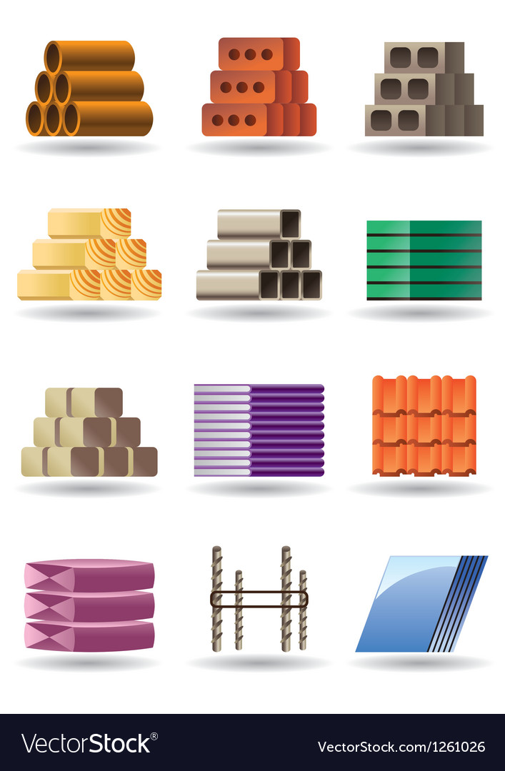 Building and constructions materials vector | Price: 3 Credit (USD $3)