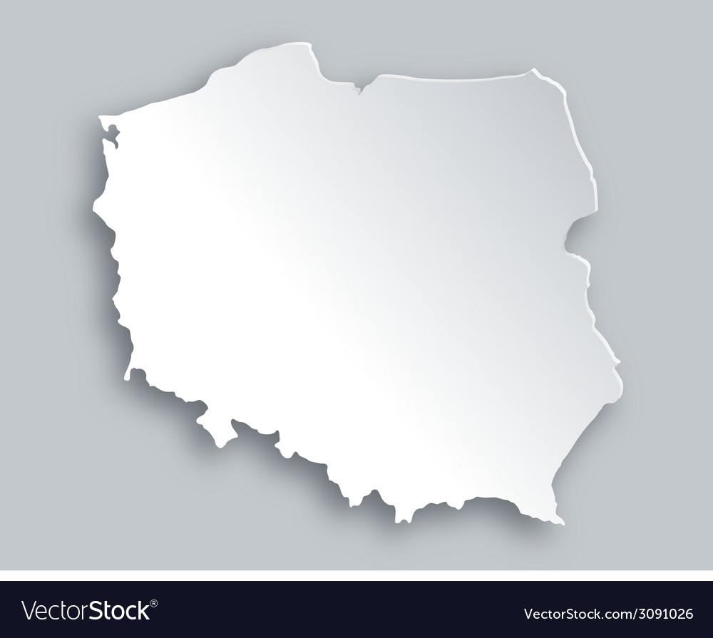 Map of poland vector | Price: 1 Credit (USD $1)
