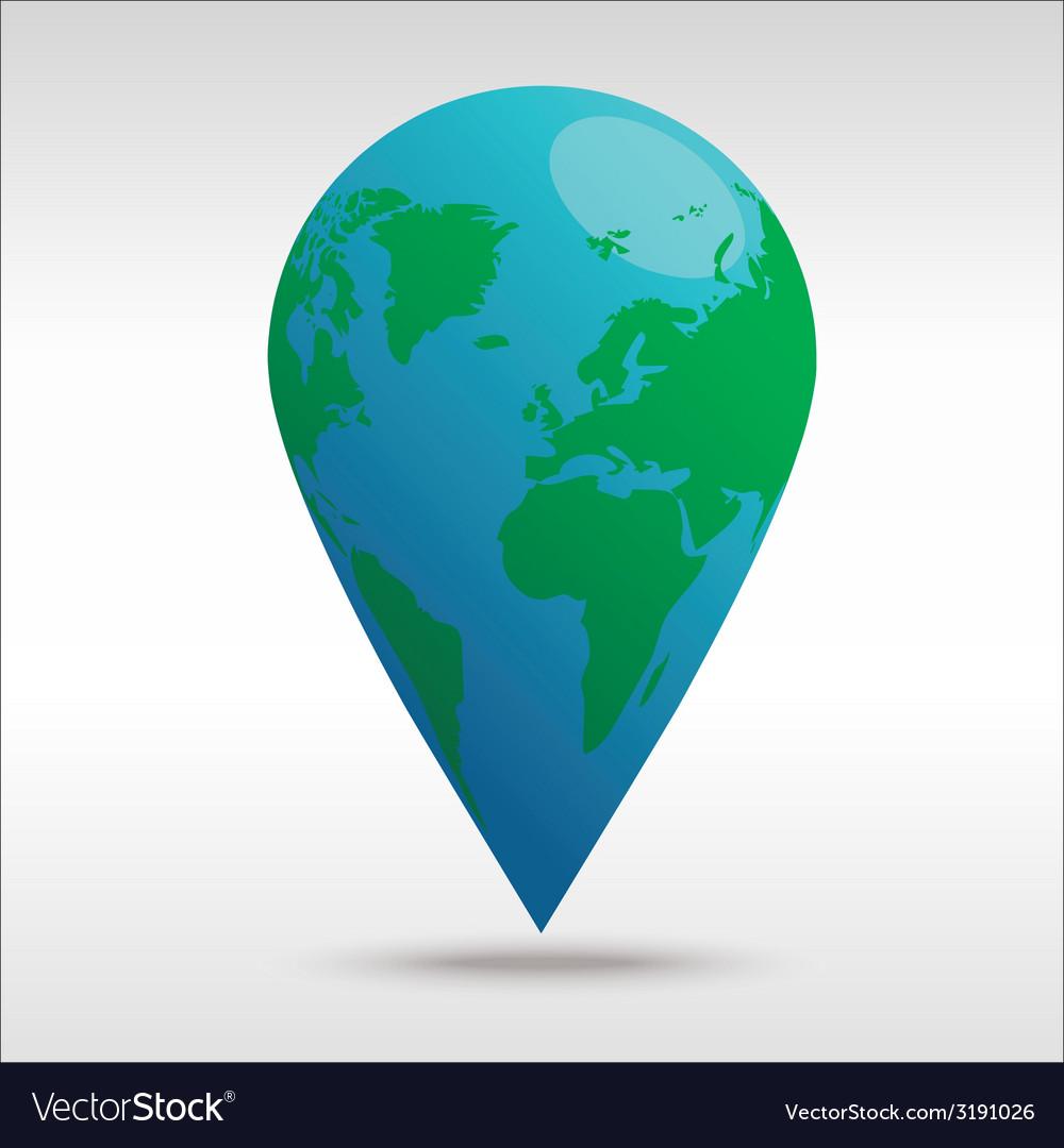 Worldpin vector   Price: 1 Credit (USD $1)