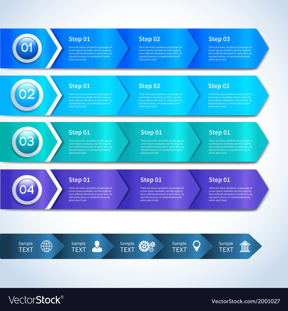 Abstract paper business infographics elements vector   Price: 1 Credit (USD $1)