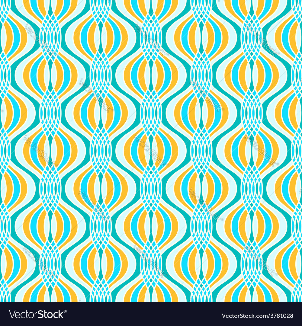 Abstract geometric ogee pattern vector | Price: 1 Credit (USD $1)