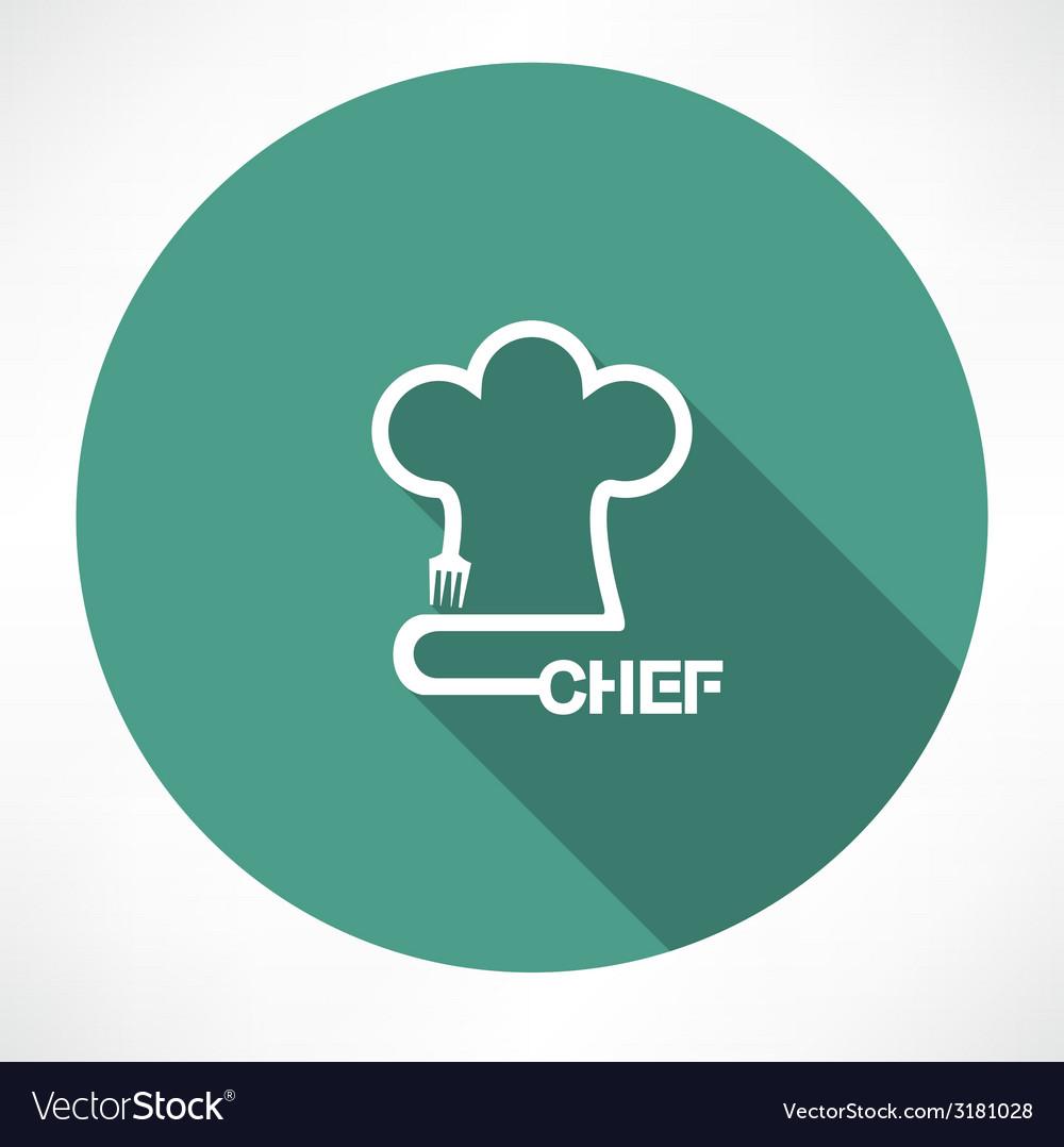 Chef icon vector   Price: 1 Credit (USD $1)