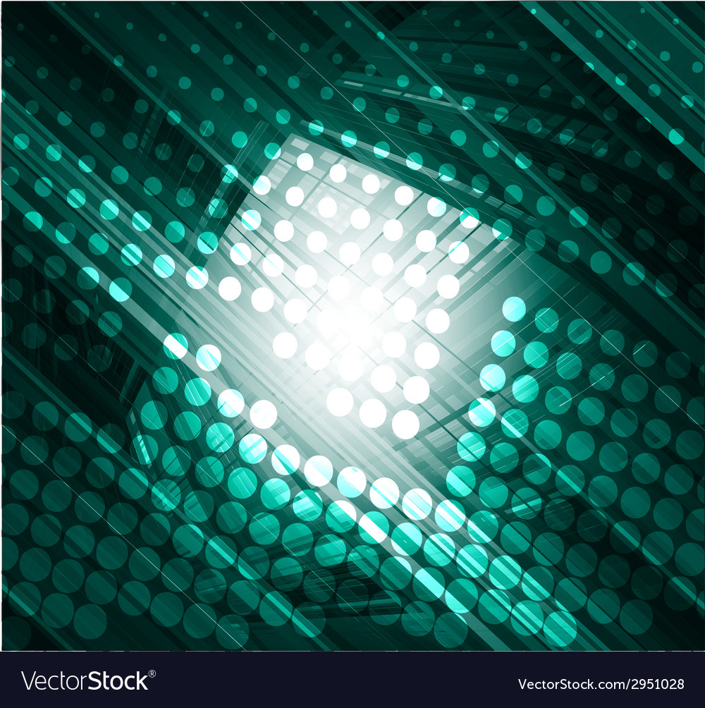 Dark green abstract technology background vector | Price: 1 Credit (USD $1)