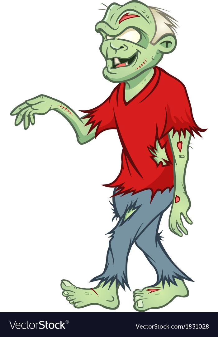 Zombie walking vector | Price: 1 Credit (USD $1)
