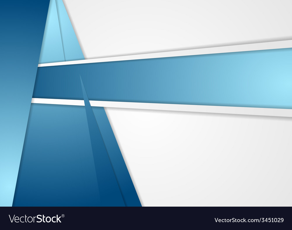 Blue corporate background vector | Price: 1 Credit (USD $1)