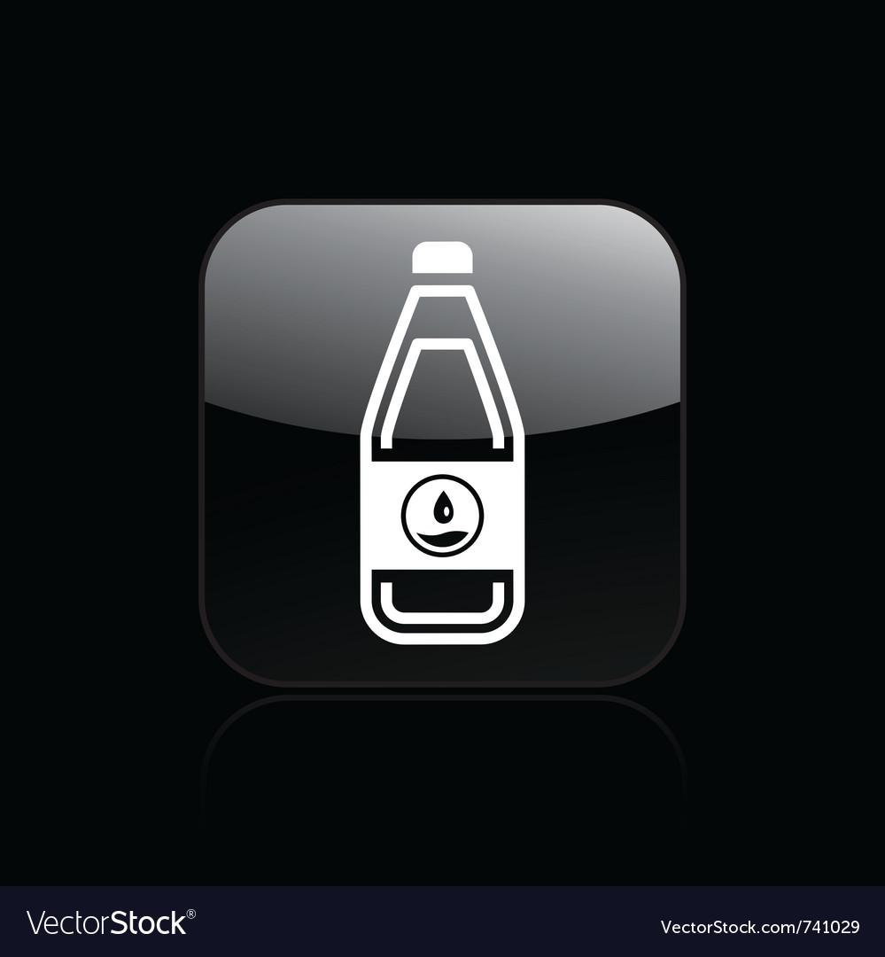 Liquid bottle icon vector | Price: 1 Credit (USD $1)