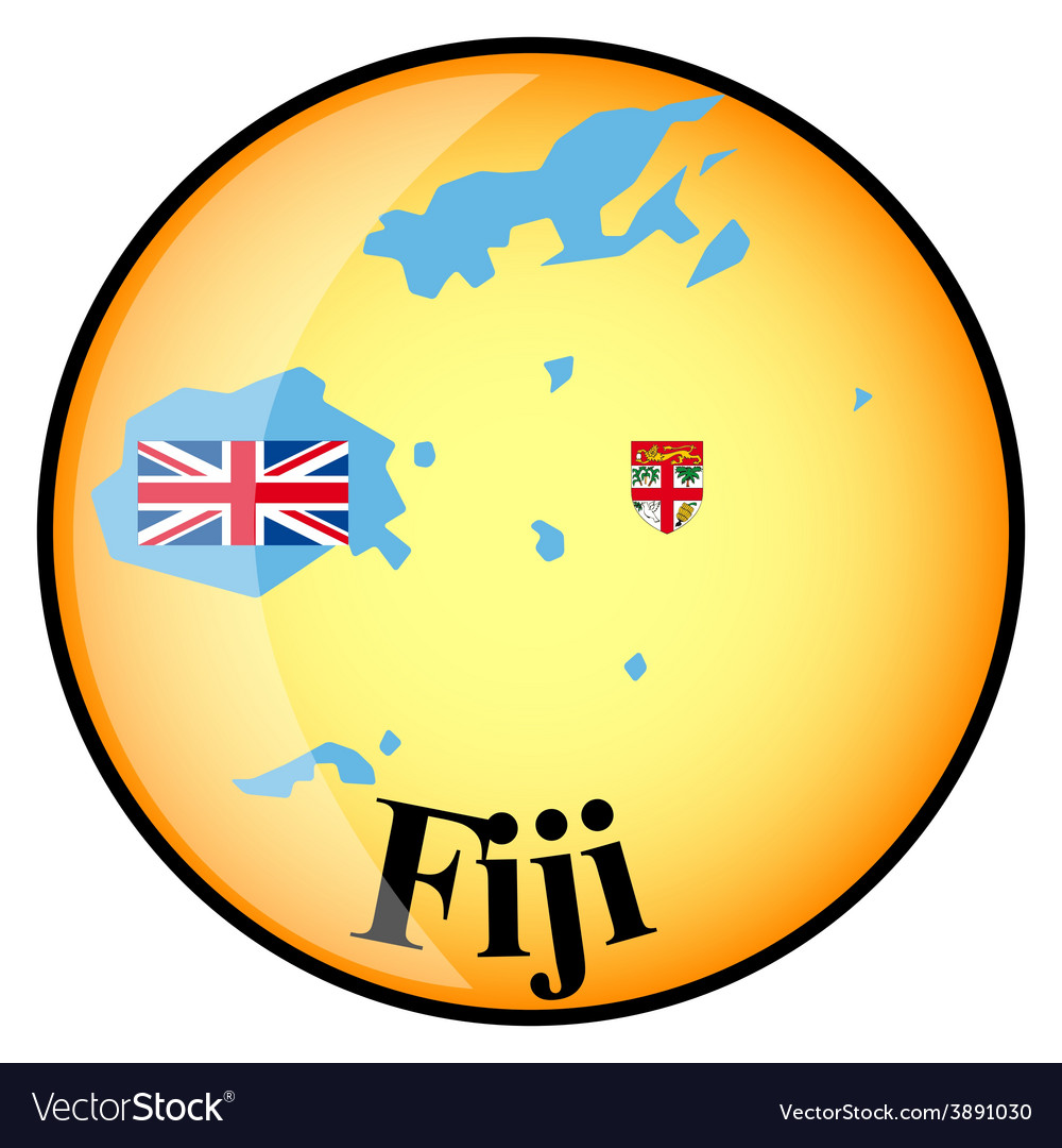 Button fiji vector | Price: 1 Credit (USD $1)