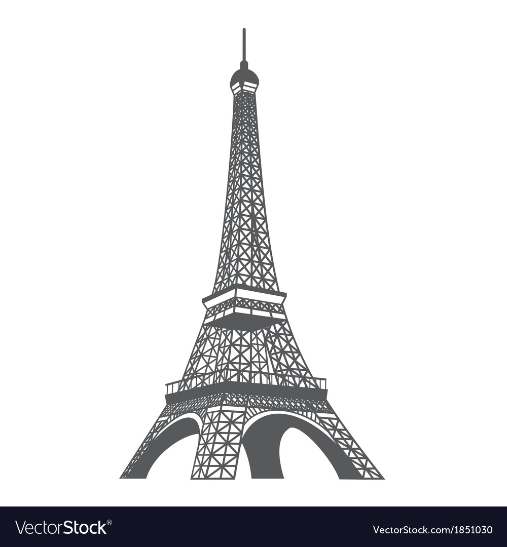 Eiffel tower xs vector | Price: 1 Credit (USD $1)