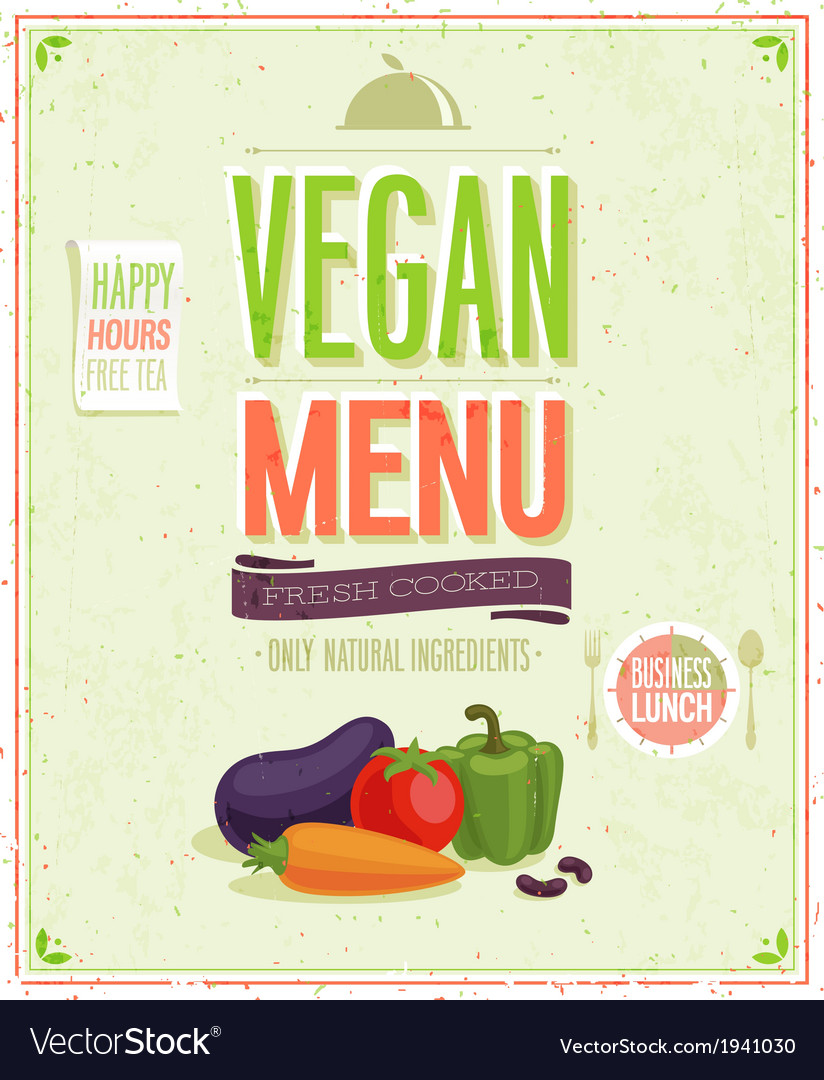 Vegetaruan vector | Price: 1 Credit (USD $1)