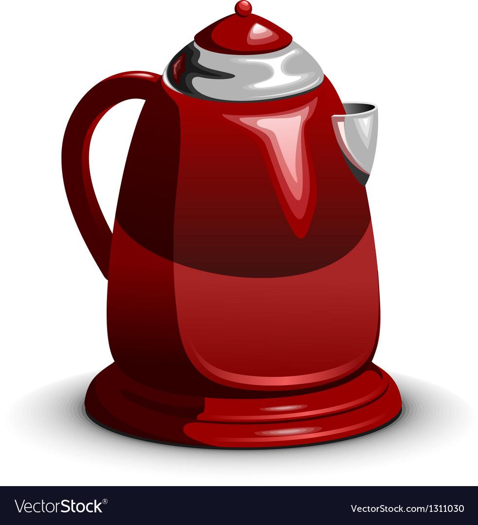 Waterboiler electric teapot vector | Price: 3 Credit (USD $3)