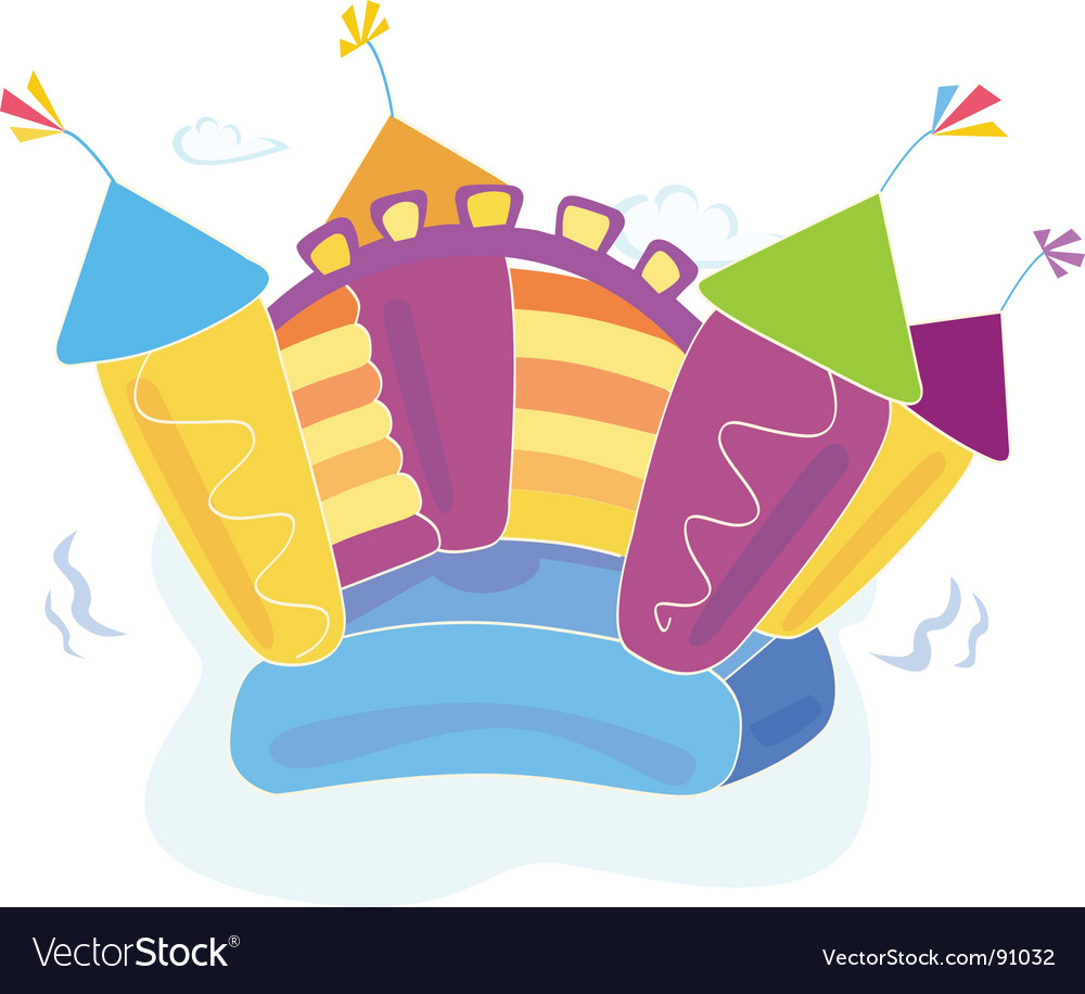 Bouncy castle vector | Price: 1 Credit (USD $1)