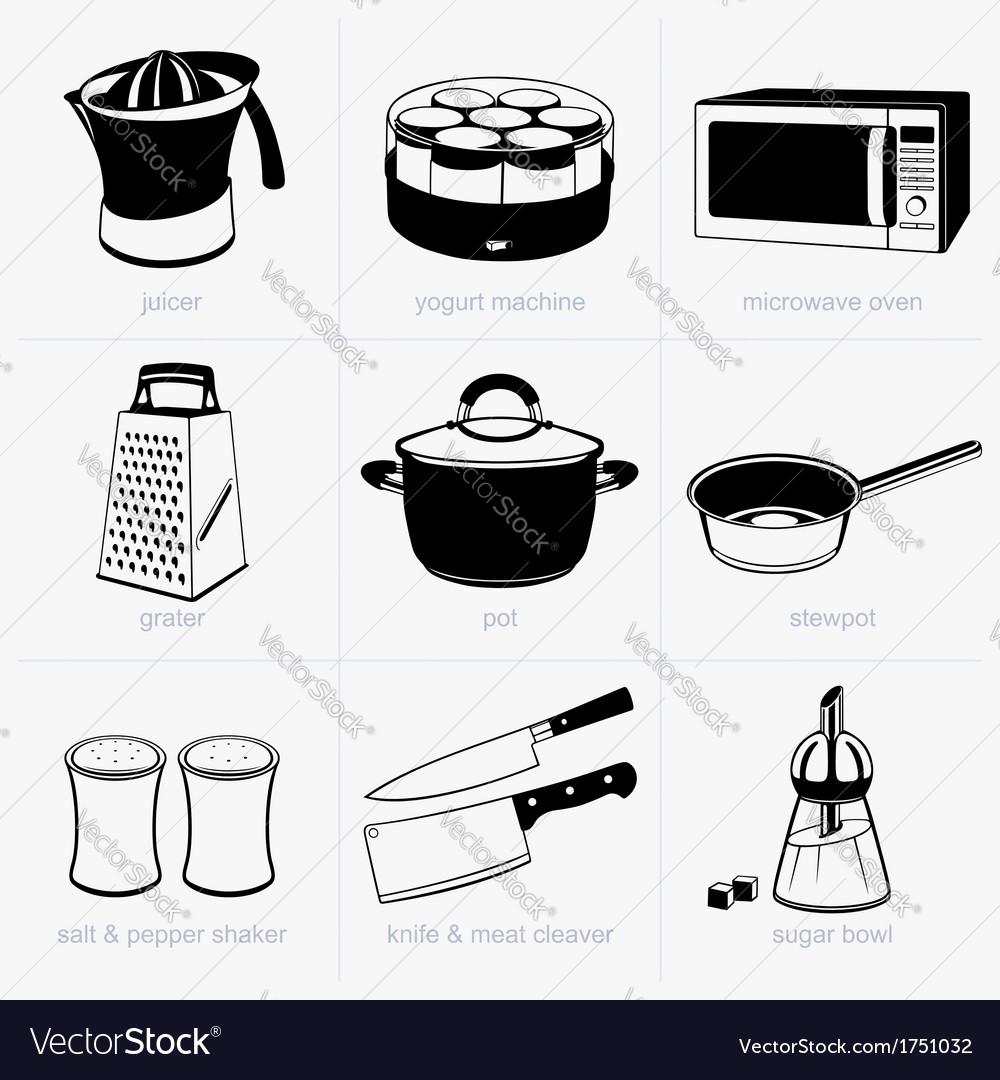 Kitchen tools vector | Price: 1 Credit (USD $1)