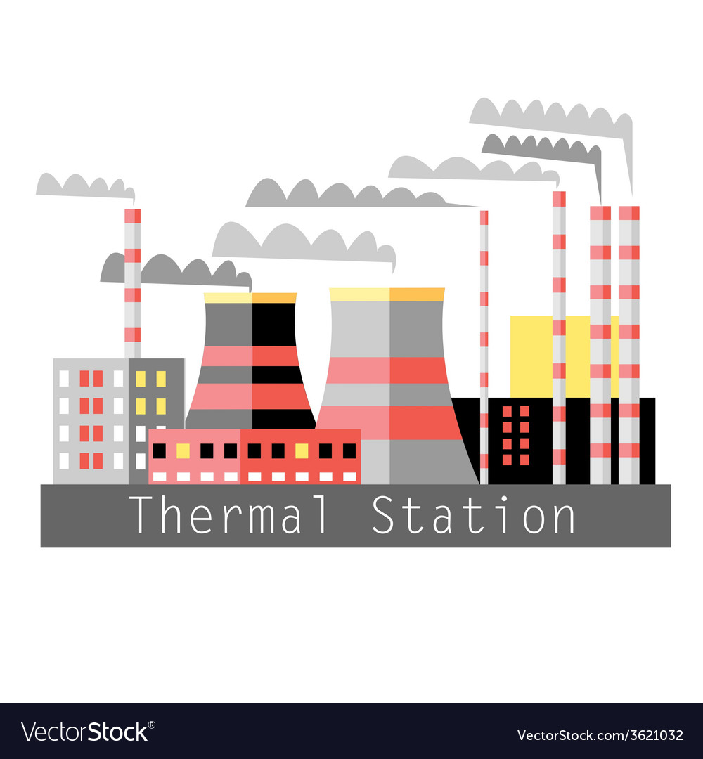 Thermal power vector | Price: 1 Credit (USD $1)