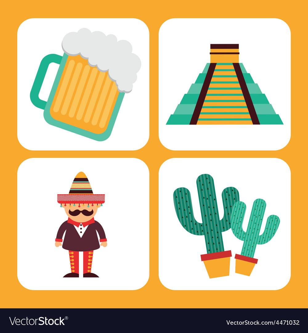 Mexican culture vector | Price: 1 Credit (USD $1)