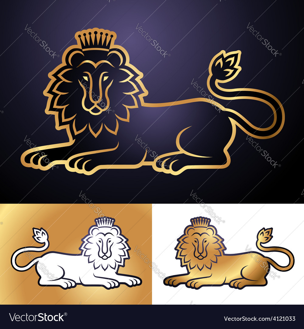 Lion perfect vector | Price: 1 Credit (USD $1)