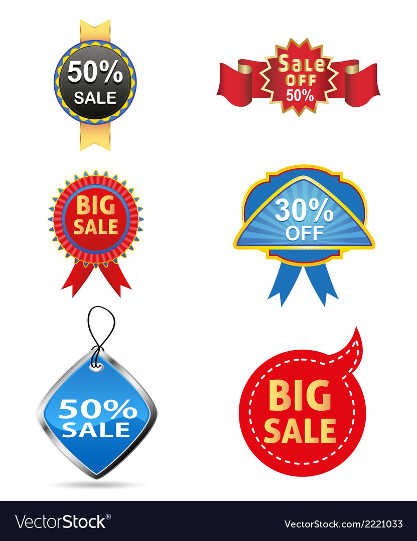 Sale off tag icon vector | Price: 1 Credit (USD $1)