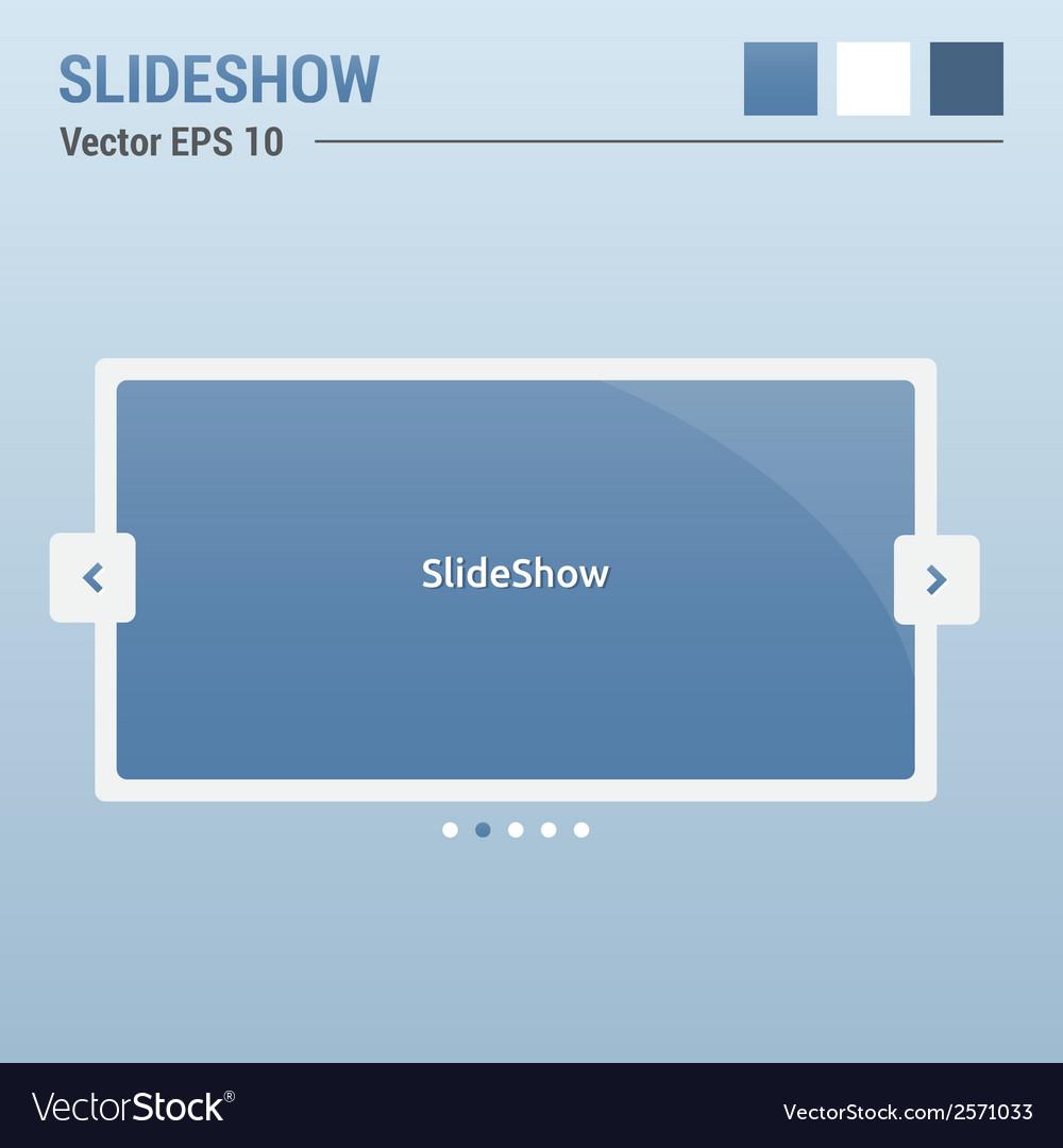 Slideshow vector | Price: 1 Credit (USD $1)
