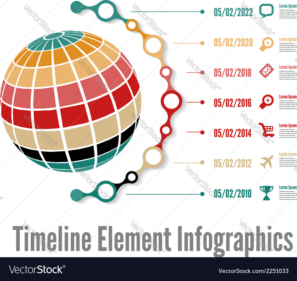 Timeline 01 vector | Price: 1 Credit (USD $1)