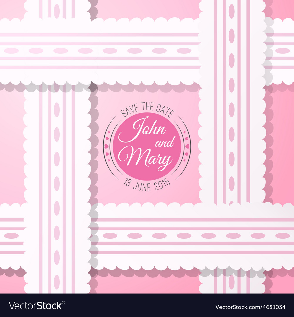 Pink background with vintage realistic pink and vector | Price: 1 Credit (USD $1)
