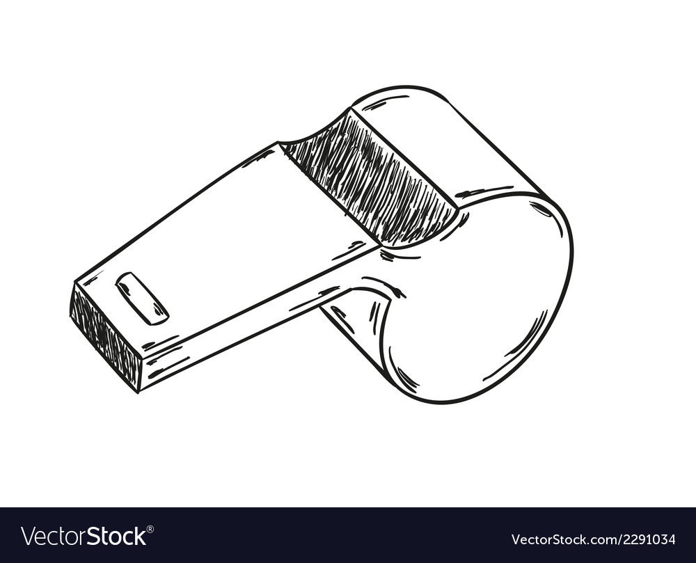 Sketch of the whistle vector | Price: 1 Credit (USD $1)