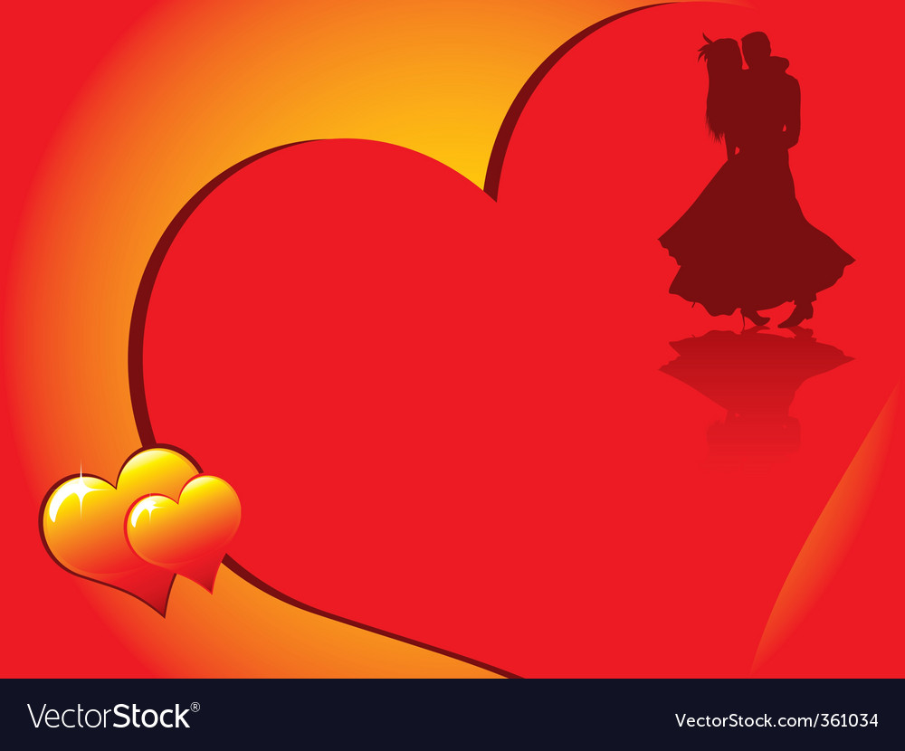 Valentines dancing vector | Price: 1 Credit (USD $1)