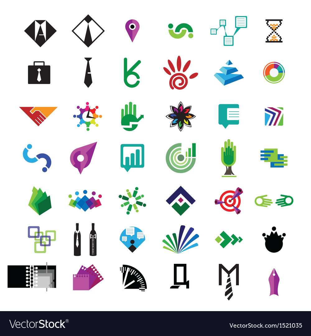 Collection of icons for business vector   Price: 1 Credit (USD $1)