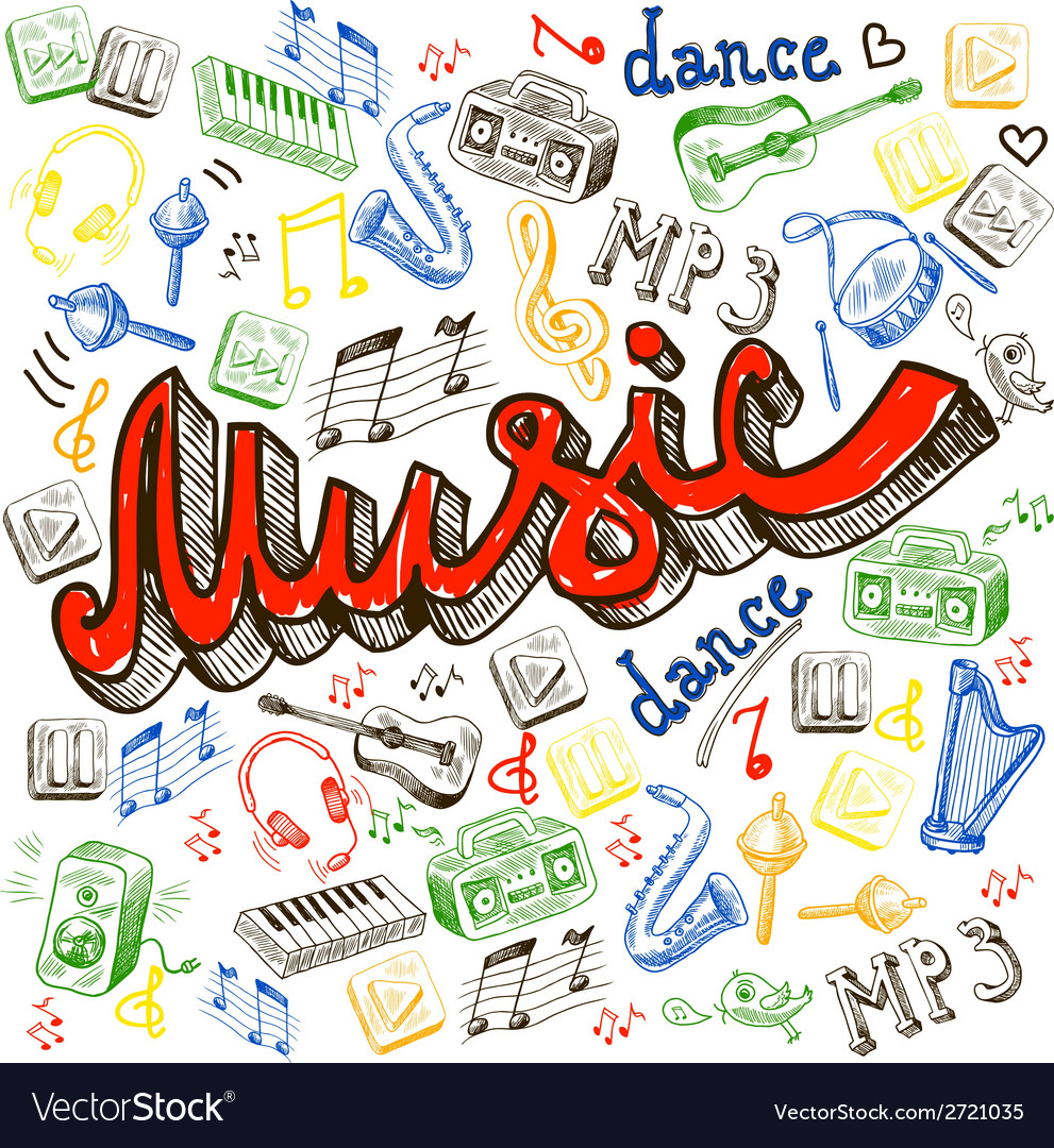 Music color background vector   Price: 1 Credit (USD $1)