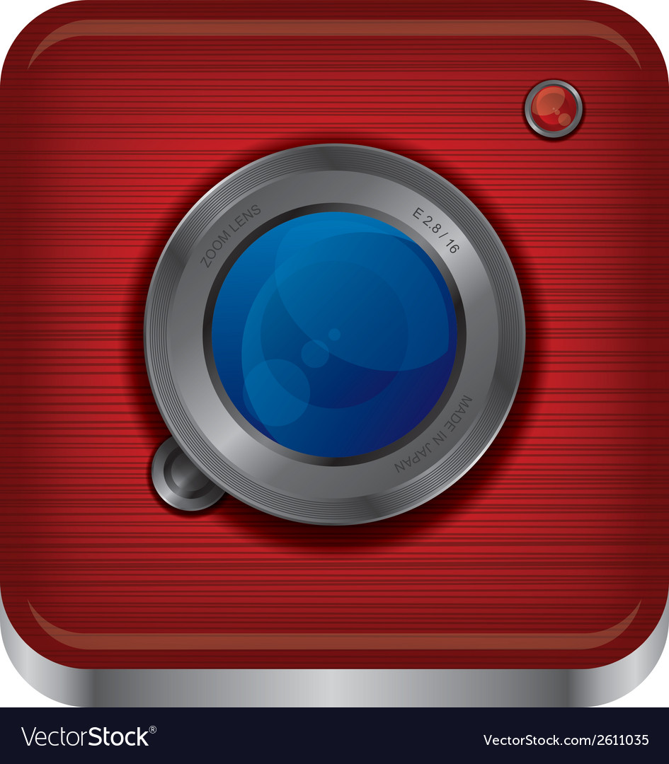 Web cam icons vector | Price: 1 Credit (USD $1)