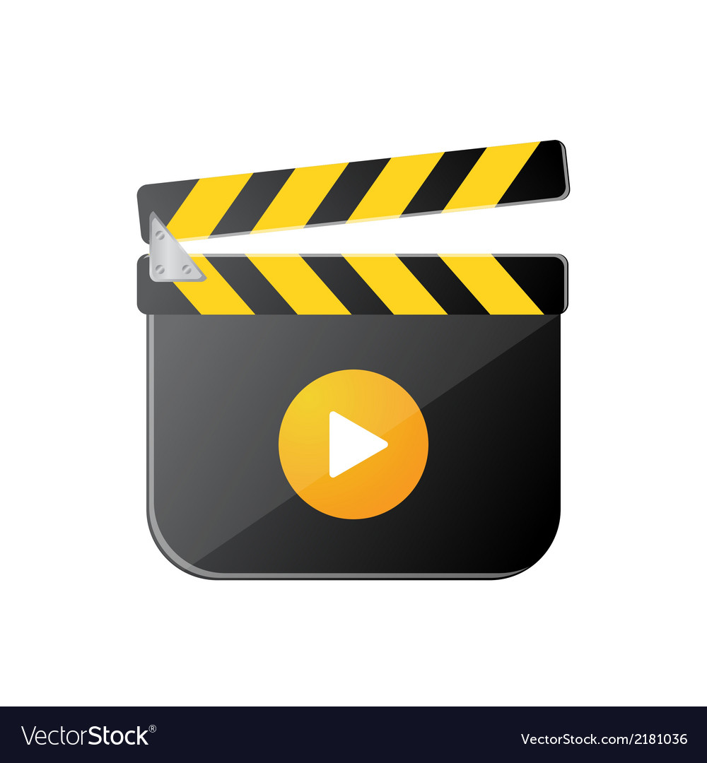Clapperboard2 vector | Price: 1 Credit (USD $1)