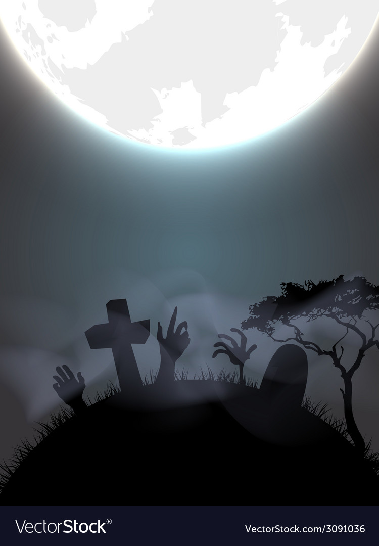 Halloween gravestone vector | Price: 1 Credit (USD $1)